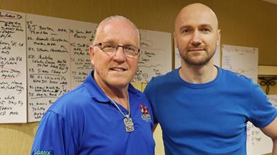 With GM Jeff Smith - Colorado Springs/ USA, 2014