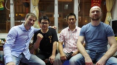Masterminding with Sifu Sergio Iadarola, Sifu Kong Chi Keung and Sifu Sunny So - Hong Kong, 2013
