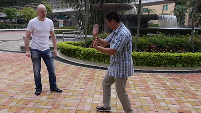 Sifu Sunny So explains details of the Chong Kuen form – Hong Kong, 2013