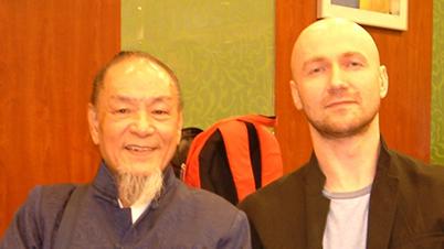With Sifu Cheng Kwong - Hong Kong, 2011