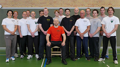 WingTczun seminar by Sifu Zimmermann. Hosts: Sifu Remko Steffers and Rémon van Westenbrugge – Tilburg/ NL, 2013