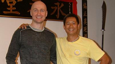 With Sifu Sunny So - Amsterdam/ NL, 2009