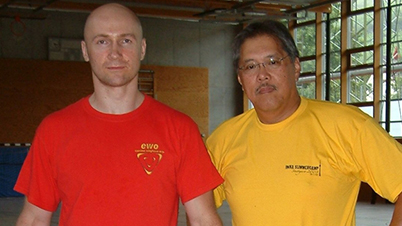 With GM Rene Latosa - Stuttgart/ Germany, 2009
