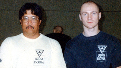 GM Rene Latosa with Edgar Zimmermann – Mühlheim/ Germany, 1997