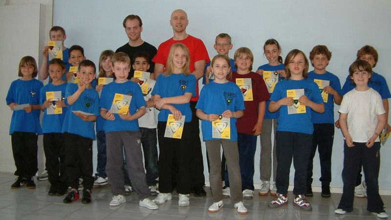 EWO Kids Hengelo with Sifu E. Zimmermann and T. Kamp – Hengelo/ NL, 2010