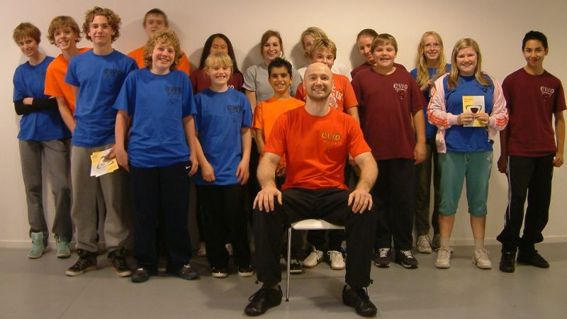 EWO Juniors Enschede with Sifu Edgar Zimmermann – Enschede/NL, 2011