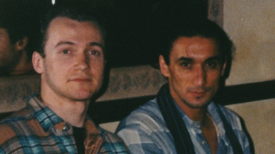 With Sifu Emin Boztepe - London/ UK, 1995