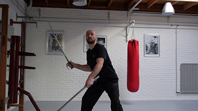 Ezcrima: Sifu Zimmermann, using an original Sabre from 1876 – Enschede/ NL, 2014