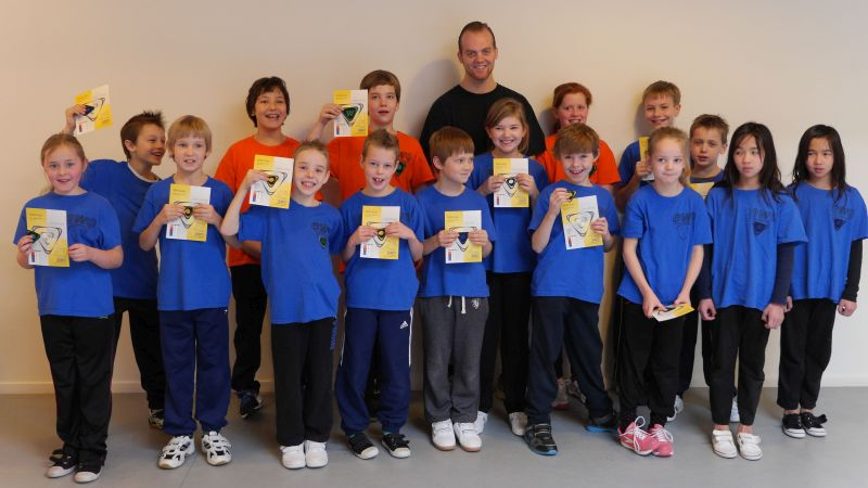 EWO Kids Enschede with Terry Kamp – Enschede/ NL, 2014