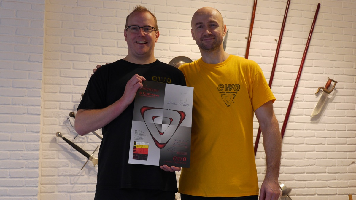 4th TG WingTczun - Sifu Remko Steffers