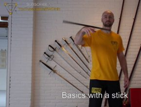 Basics with a stick - Sifu Edgar Zimmermann, EWO