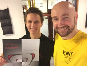 WingTczun Elte 3rd TG Leadership: Sjoerd Knobben (with Sifu Edgar Zimmermann).